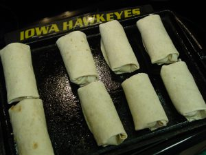 Baked Chicken Chimichangas 003